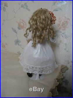 11 Antique French Bisque Head Doll, Rare Size 2 Jumeau