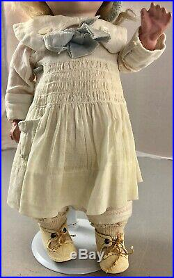 11 Antique German Bisque Head Googly Doll! Rare! Beautiful! 18009
