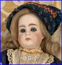 11 Antique German Closed Mouth Doll 212 Bahr Proschild withOriginal Body