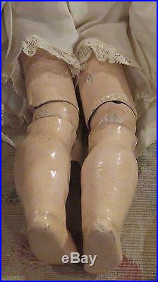 11 Antique Perfect Heubach Coquette German Bisque Doll withOriginal Outfit