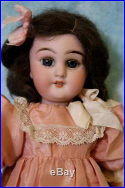 11 Antique Simon & Halbig 749 DEP Bisque Doll Wood & Compo French Body orig. Fin
