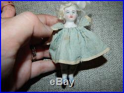 12 Antique Gebruder Heubach Mold 10532/2/ Bisque Character Doll w Extra Doll