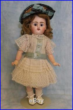 12 French Bisque Bebe by Pintel and Godchaux Antique Doll Cute Outfit C PG DF