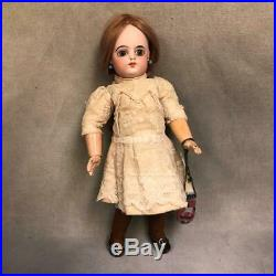 13.5-Inch Antique FG mark, Francois Gaultier, French Bisque Doll circa 1885