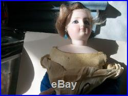 13 Lovely Antique French Fashion Doll Bisque Head Shoulder Kid Leather Body