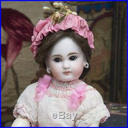 14 Antique German Bisque Closed Mouth Sonneberg Doll 137 by Mystery Maker, 1885