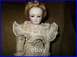 14 French Fashion Doll Probably Barrois With Long Bisque Arms
