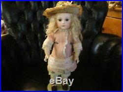 15 1/2 Antique Portrait Jumeau Doll With Marked 8 Ball Body