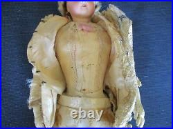 15 Antique Jumeau French Fashion Doll All Original Couture Gown