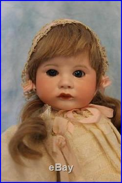 15 Antique SFBJ 252 Pouty Toddler French Bisque Doll c. 1910 Adorably Dressed