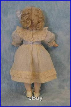 16 Antique Kley & Hahn German Bisque Character 549 Very Pretty doll 1900