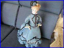 16 Antique Marked Lovely Francois Gaultier French Fashion Doll