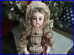17 Antique Beautiful BRU Doll Marked With Circle, Dot & Crescent
