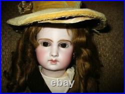 17 Lovely Mystery French Doll On 8 Ball Body AS IS