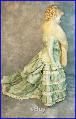 17 Very Beautiful Antique French Fashion Doll FG Paupee by Francois Gaultier