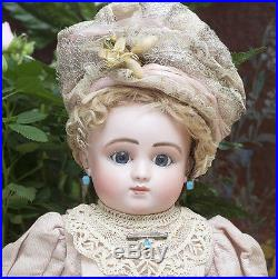 18 (46cm) Rare Antique French Bisque Bourgoin Doll by Steiner Series C