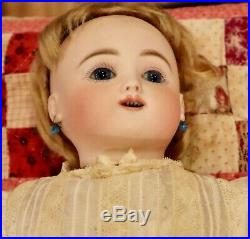 18 Antique Bebe Gigoteur Kicking Crying C1880 Bisque Bebe Steiner Doll