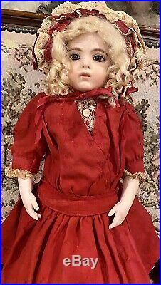 18 Antique French Bisque Bebe Bru Jne & Cie Bebe WithOriginal Body withEarly outfit