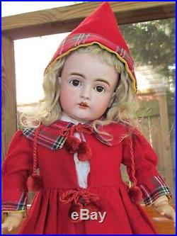 18 Antique German Doll Kestner Rare Mold 129 Matching Head and Body! Perfect