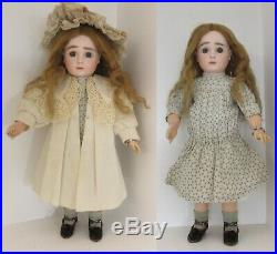 18 BEBE STEINER Fig A11. Original clothes. Antique french bisque head doll