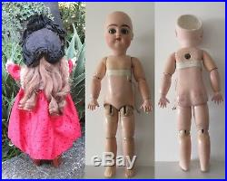 18 Pintel & Godchaux, F Gaultier mold, orig clothes, FRENCH ANTIQUE BISQUE HEAD