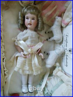 1999 Wendy Lawton 9 Travel Doll MIGNONETTE with Trunk Bisque / Jointed Wood Body