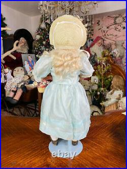 20 Antique French Bisque Bebe Doll By Francois Gaultier F. 8 G. Circa 1880