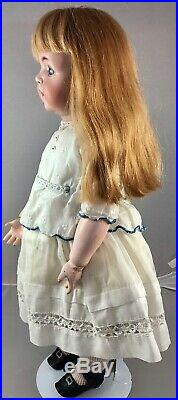 20 Antique German Bisque Head Doll K&R 121 with Toddler Body! 18055