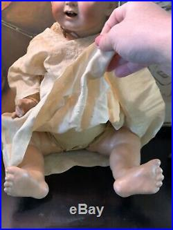 20 Antique Kestner Bisque Doll Germany JDK 226 Baby Body Adorable Open Mouth