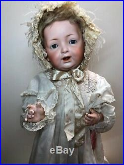 20 Antique Kestner Bisque Doll Germany JDK 226 Baby Body Adorable Open MouthSF3