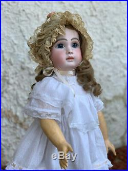 22.5 Antique French Figure A Steiner Bebe No 4 Doll circa 1880