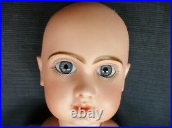22 Antique Closed Mouth Tete Jumeau Size 9 AS IS