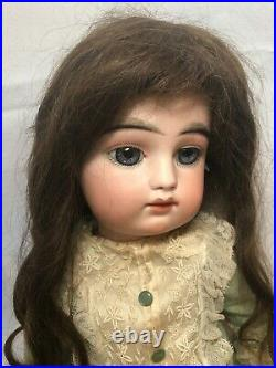 22 Antique French Bisque Bebe Doll By Francois Gaultier Size 9 FG in Scroll