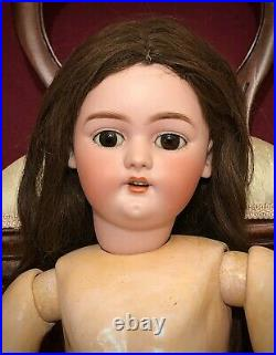 22 Antique German Bisque Doll For You To Dress Simon & Halbig 1079