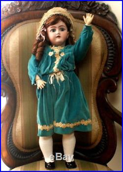 23 Antique Bisque Doll Handwerck 109 Dep Made For French Trade 1890