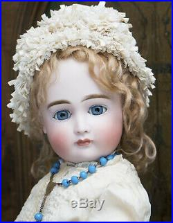 23 Antique German Bisque Head Closed Mouth Child Doll by KESTNER