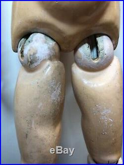 23 Antique Kestner Bisque Doll Germany #168 Ball Jointed Compo Body Sleep Eyes