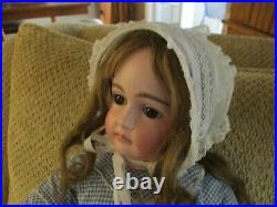 23 Beautiful, Early Kestner Pouty Doll With Great 8 Ball Body
