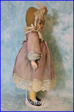 24.5 Simon and Halbig 1079 German Bisque Antique Doll in Cute Costume