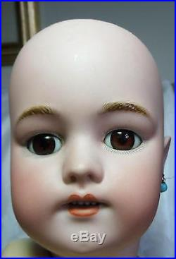 25 Antique Simon and Halbig 1079 DEP Doll Bisque and Composition German