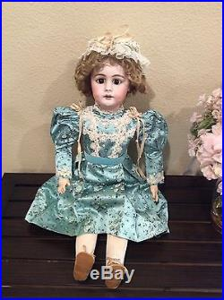 29 Beautiful Antique Bisque Doll. S H #759