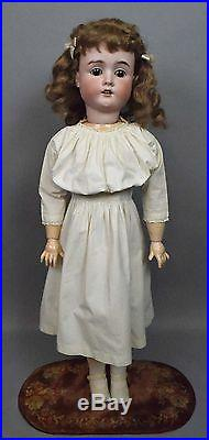 31 Adorable Antique Hamburger & Co. Bisque Head Doll Viola c. 1900! MUST SEE