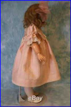 32-Inch 949 Simon and Halbig German Bisque Antique Doll c. 1900 Character Open/M