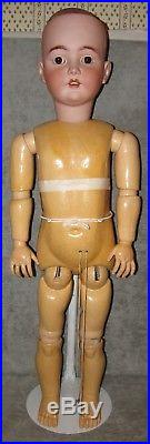44 Enormous Biggest Hh 79- Antique German Bisque Doll Sleep Eyes Perfect A/o