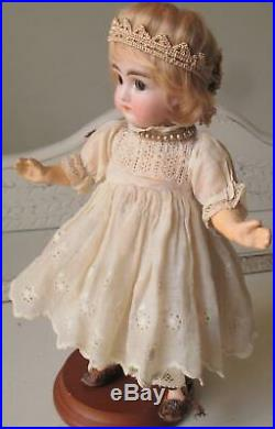 8 1/2Antique Early Kestner Doll Jointed Closed Mouth Composition Body