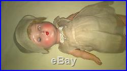 Antique Bisque Head Composition Body Doll Germany 13 A/o $44.99