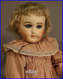 ANTIQUE FRENCH BISQUE DOLL By HENRI DELCROIX