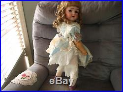 Antique German Bisque Doll With Flirty Eyes