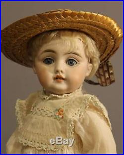 ANTIQUE GERMAN BISQUE DOLL by KESTNER Marked B Made In Germany 6
