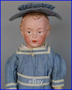 ANTIQUE GERMAN CHARACTER DOLL by GEBRUDER HEUBACH